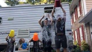 Big Family Tiny House Ice Bucket Challenge