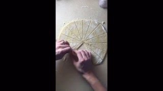 How To Shape And Form Rugelach