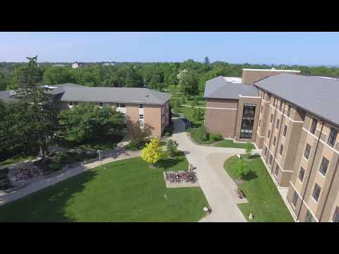 Lake Forest College Aerial Campus Tour