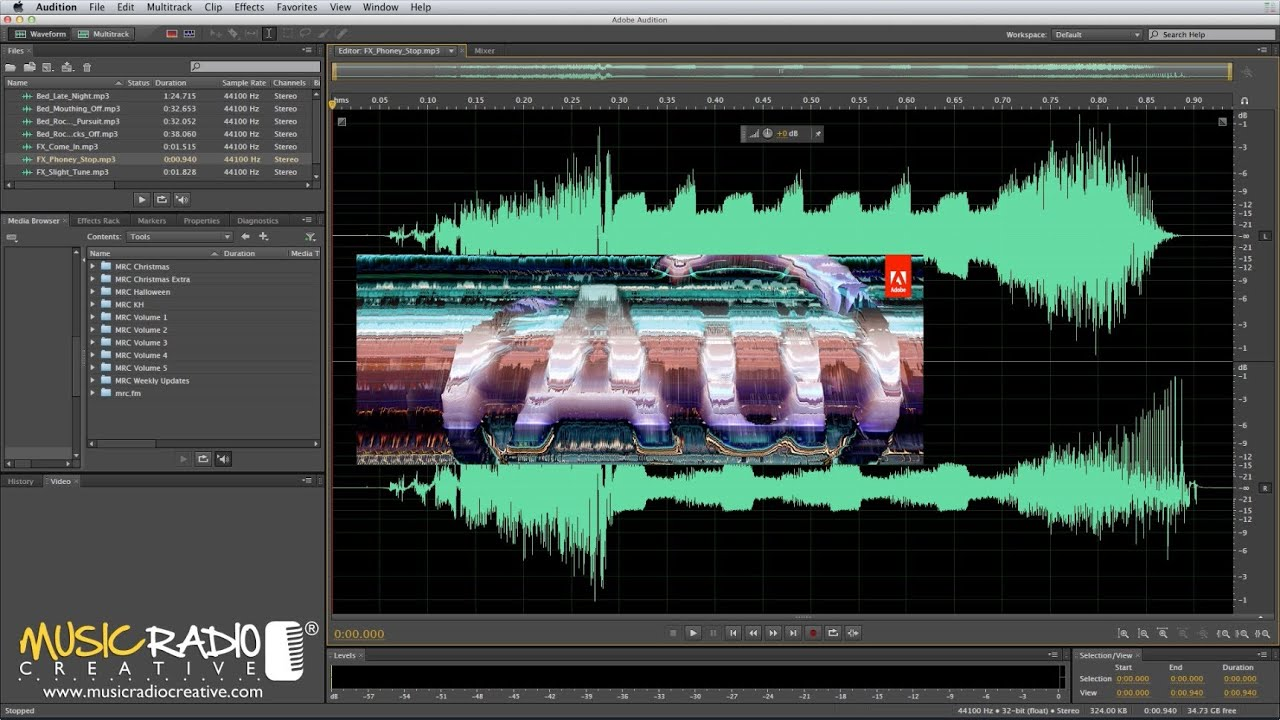 ADOBE AUDITION TUTORIAL PDF