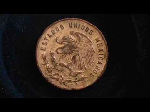 5 Centavos Mexico Coin Dated 1956 Youtube