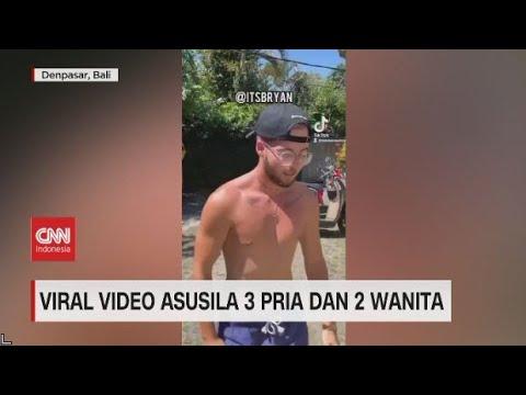 Viral Video Asusila 3 Pria dan 2 Wanita