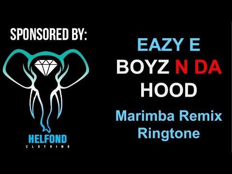 EAZY E - Boyz n Da Hood Marimba Remix Ringtone and Alert