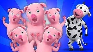 lima babi kecil lagu untuk anak-anak Five Little Piggies