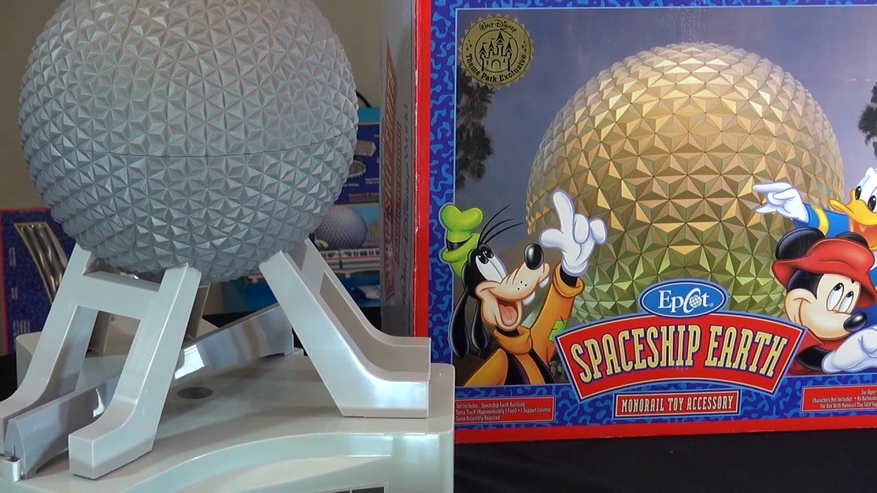 Epcot Spaceship Earth Toy Spaceship Earth EPCOT ...