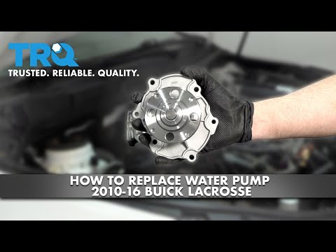 How To Replace Water Pump 2010-16 Buick LaCrosse