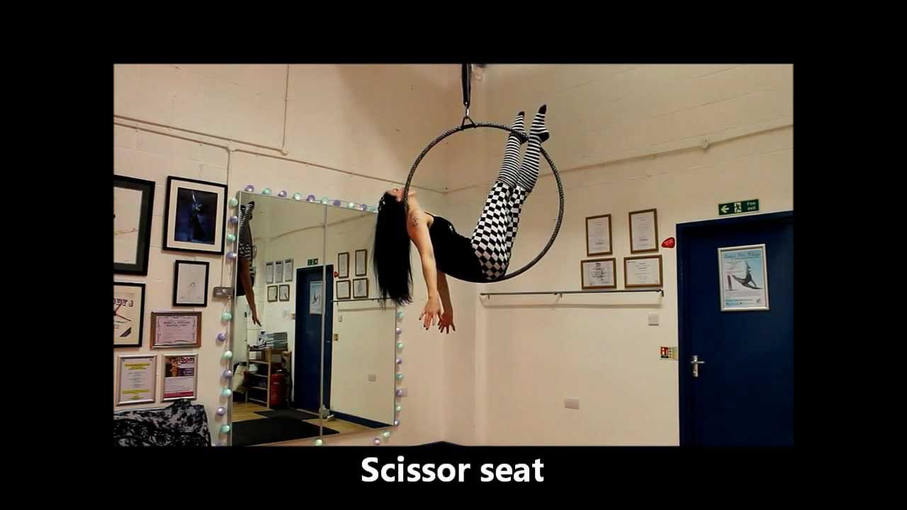 Beg Int Aerial Hoop Moves Youtube