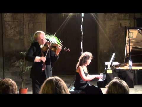 Alexandre Dubach, violino e Maria Assunta Munafò, pianoforte