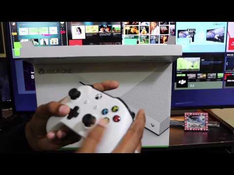 Xbox One S Unboxing Setup India ( हिन्दी )