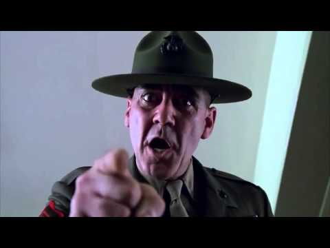 You Will Not Laugh - Full Metal Jacket - Gunnery Sergeant Hartman