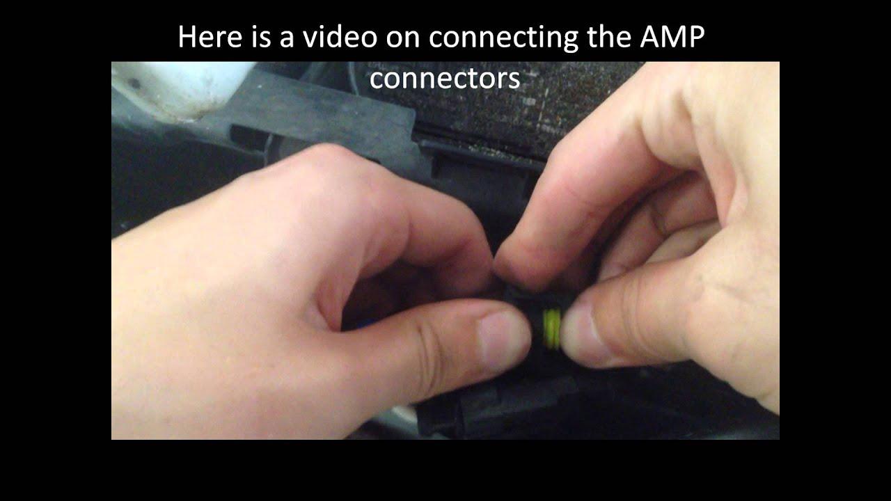 9006 single beam hid kit installation [ 1280 x 720 Pixel ]