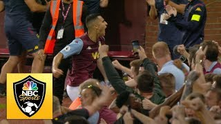 Anwar El Ghazi seals three points for Aston Villa against Everton | Premier League | NBC Sports