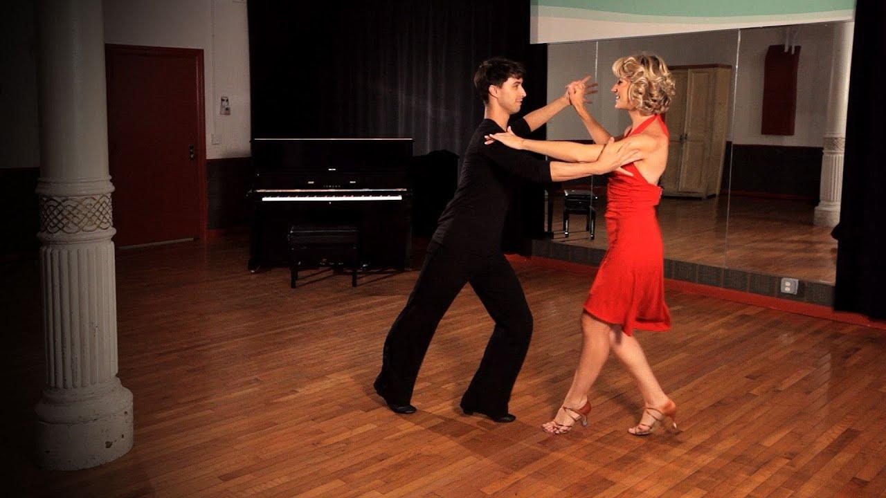 how to do a mambo cross body lead ballroom dance youtube