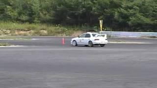 2009/08/09JAF北海道ジムカーナ地方選手権第6戦SA3クラス第2ヒート ドラ...