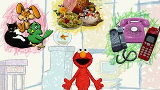 Elmos World Pets Food  Telephones PC Game