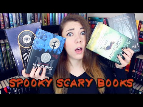 RECOMMENDING SCARY SPOOKY BOOKS