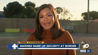 Military to assist border patrol, man damages new razor wire at US-Mexico border