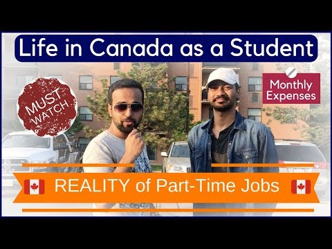 🇨🇦 Reality Of Part Time Jobs In Canada | Life Of A Student