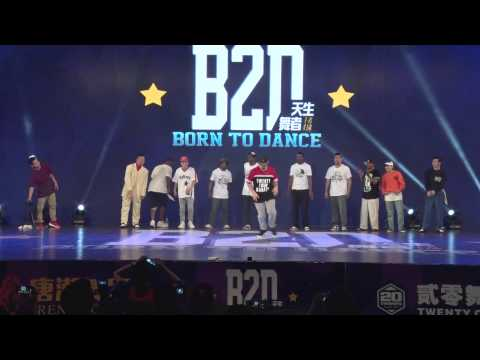 12 Judges Big Show in Born to Dance Vol.4 in Shenzhen CN
