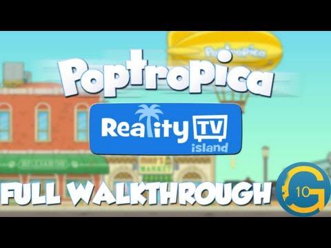 Poptropica - Reality TV Island Full Walkthrough