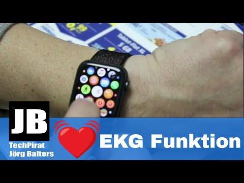 Wie gut ist die Apple Watch 4 mit der neuen EKG Funktion unter WatchOS 5.2?