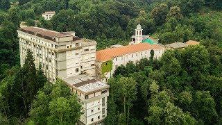 Massive Forgotten Catholic School Abandoned In Italian Hills   Urbex Lost Places Italy
