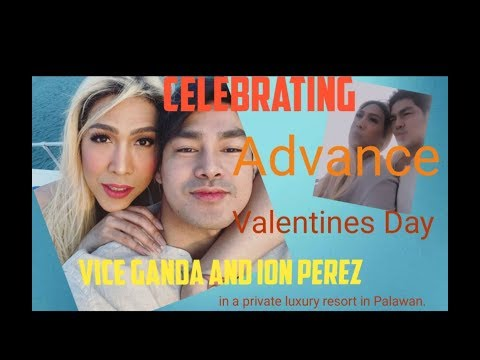 Vice Ganda And Boyfriend Ion Perez In A Private Luxury Resort In Palawan.
