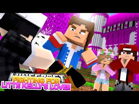 Minecraft Roleplay - LITTLE DONNY FIGHTS FOR LITTLE KELLY'S LOVE w/ RAVEN & JAY!!