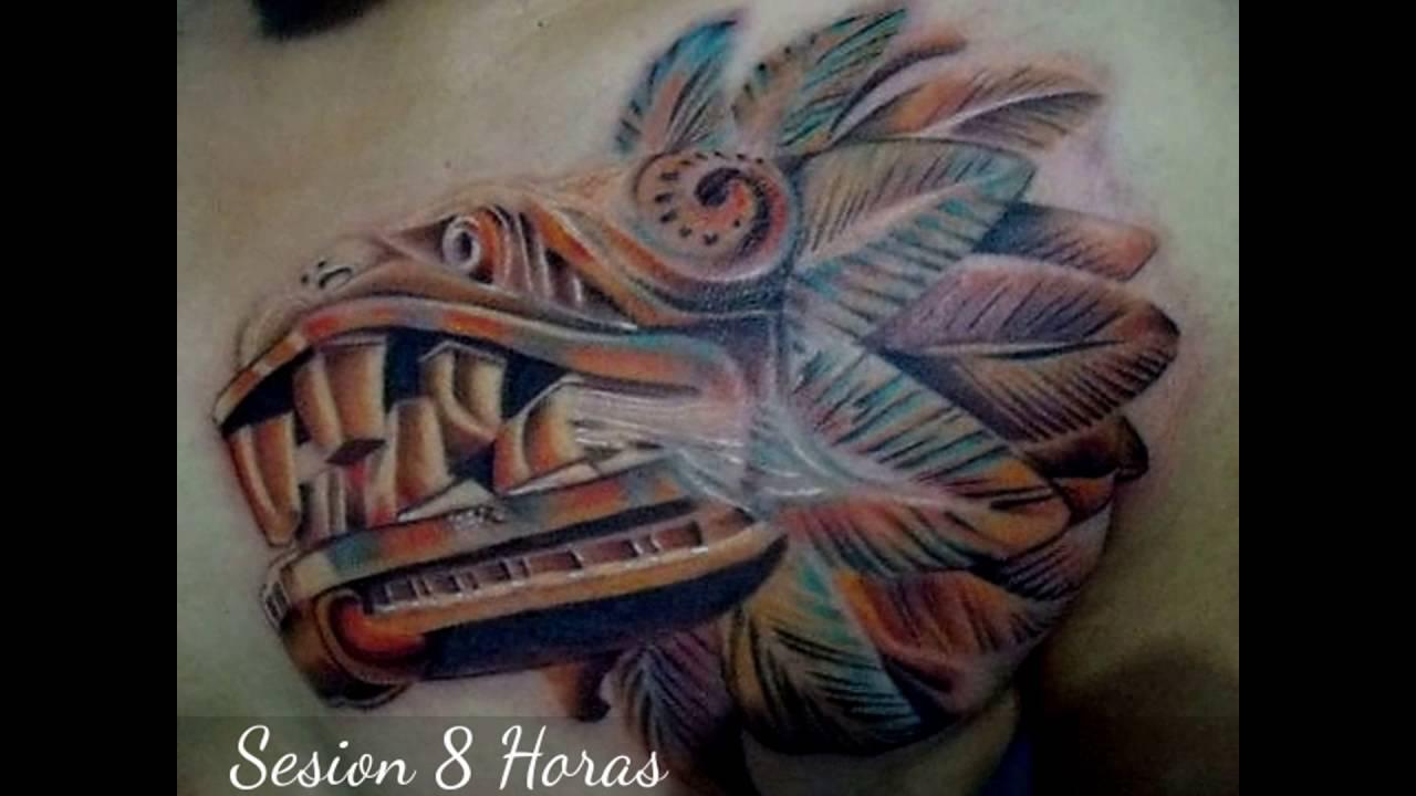 Quetzalcoatl Tattoo Design
