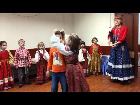 Игра-песня В огороде бел козёл. Детская фольклорная студия Потешки. Младшая группа.