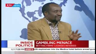 Inside Politics: Betting firms' licenses revoked
