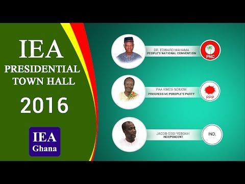 IEA 2016 PRESIDENTIAL TOWNHALL; TAKORADI