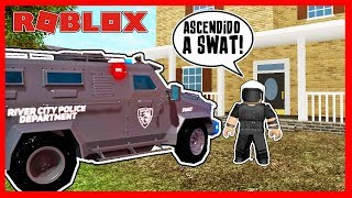 ASCIENDO A SWAT! | LIBERTY COUNTY - Roblox