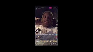"Lil Durk & King Von PULL up looking for FBG Duck in chiraq""reese our homie,fbg u must d1e"""