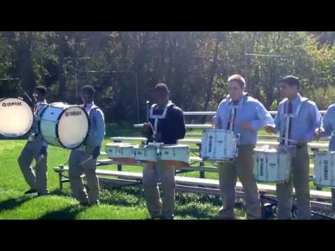 The Summit Academy Knights Drum Line