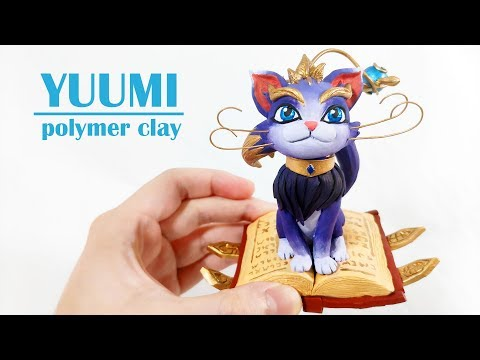 Yuumi: The Magical Cat | polymer clay - League of Legends   悠咪  - 軟陶泥