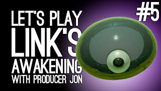 Link's Awakening Switch Gameplay: Link's Awakening with Producer Jon Pt 5 - SLIME CENTRAL