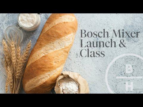 Bosch Mixer Launch & Class