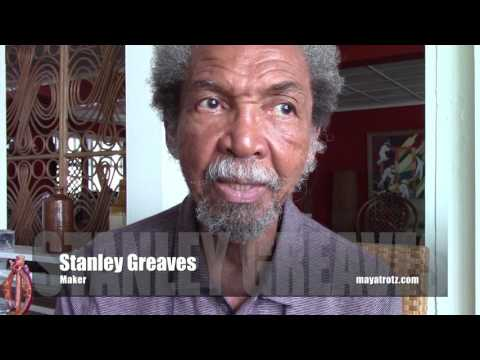 Stanley Greaves - Maker. Interview at Charlotte Street