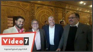 شوبير و المسلمانى و العاصى و بكرى فى عقد قران نجل محمود الشامى على كريمة عمرو الليثى