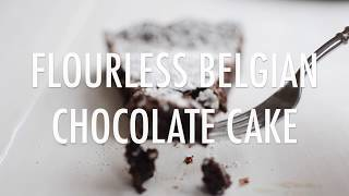 Flourless Belgian Chocolate Cake
