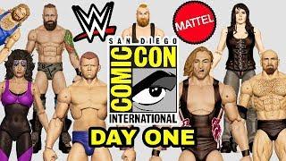 WWE SDCC 2018 - SDDC WWE Mattel Wrestling Figure Reveals - Day One (2 of 2)