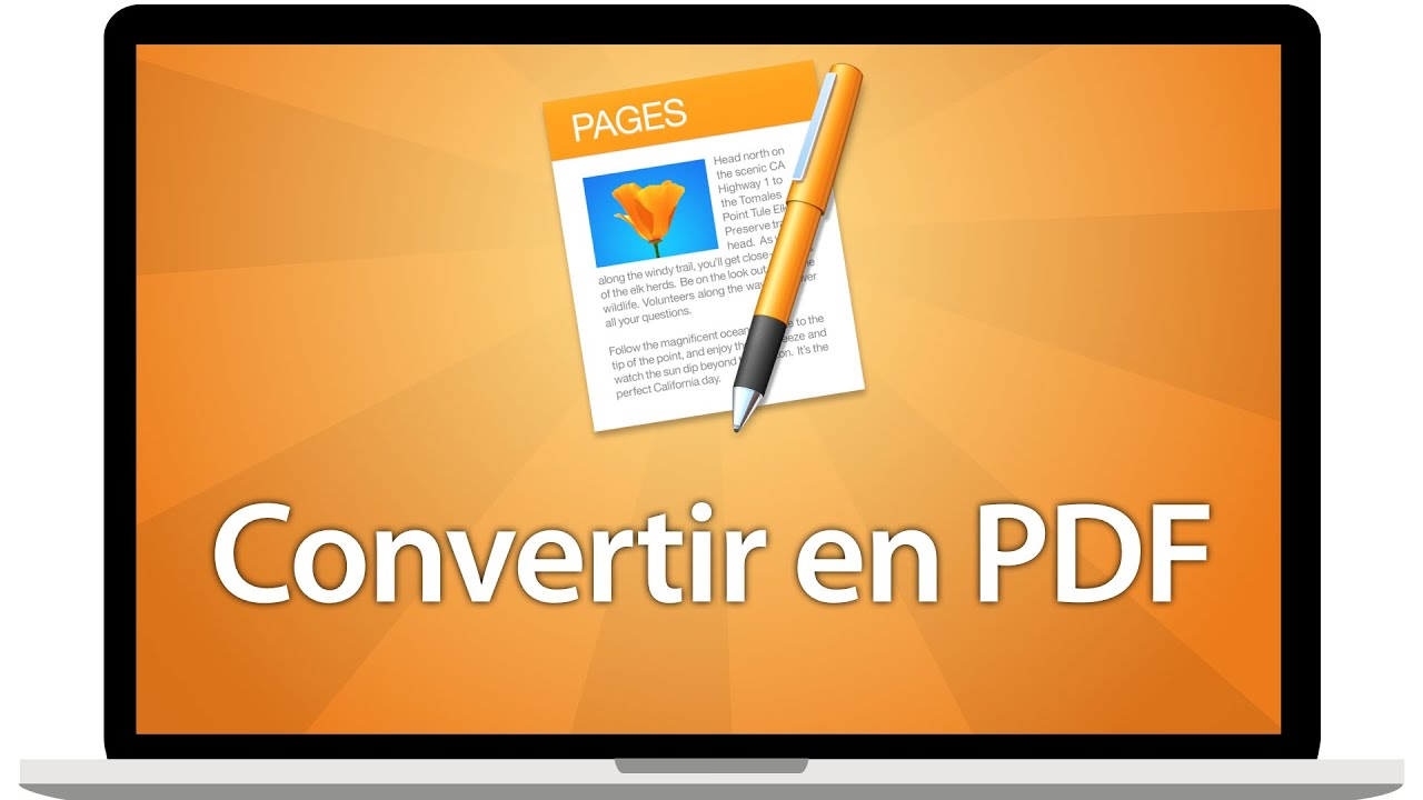 como convertir un pdf en power point en mac