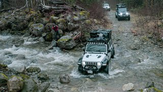 RAIN FOREST OVERLAND JEEP ADVENTURE - Dangerous River Crossing Attempt!  /// EFRT S6•EP16