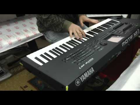 YAMAHA MOTIF XF7 DEMO NA CLASSIC KEYBOARDS - YouTube