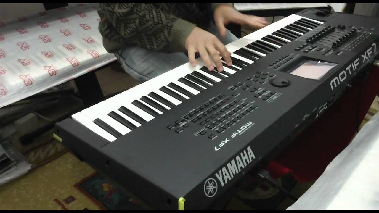 Yamaha motif xf7 demo na classic keyboards youtube for Yamaha motif keyboard