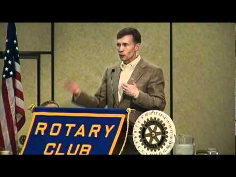 Rob McKenna - Rotary Club of Olympia - August 1, 2011 - part 1 of 3