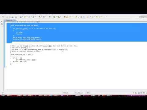 Graph Theory - Floyd Algorithm (Arabic)