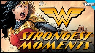 Wonder Woman's Strongest Moments! by : VariantComics