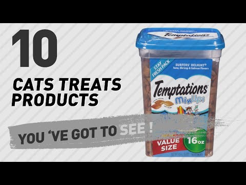 Top 10 Cats Treats Products // Pets Lover Channel Presents: